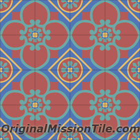 CEMENT TILES BY ORIGINAL MISSION TILE