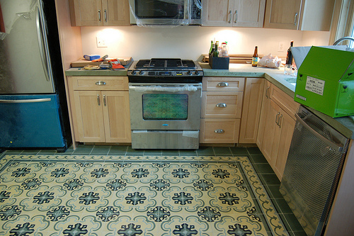 Gallery of projects by the leading manufacturer encaustic for Cement tiles for kitchen